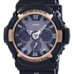 Casio G-Shock Rose Gold Accented GA-200RG-1A Mens Watch