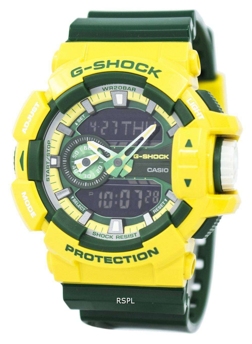 b563ca167ee01 Casio G-Shock Analog Digital GA-400CS-9A Men s Watch - ZetaWatches