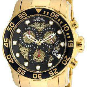 Invicta Pro Diver Chronograph Quartz 300M 19837SYB Men's Watch
