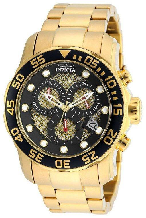Invicta Pro Diver Chronograph Quartz 300M 19837SYB Men's Watch