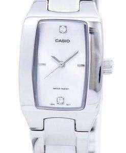 Casio Enticer Analog Silver Dial LTP-1165A-7C2DF LTP-1165A-7C2 Womens Watch