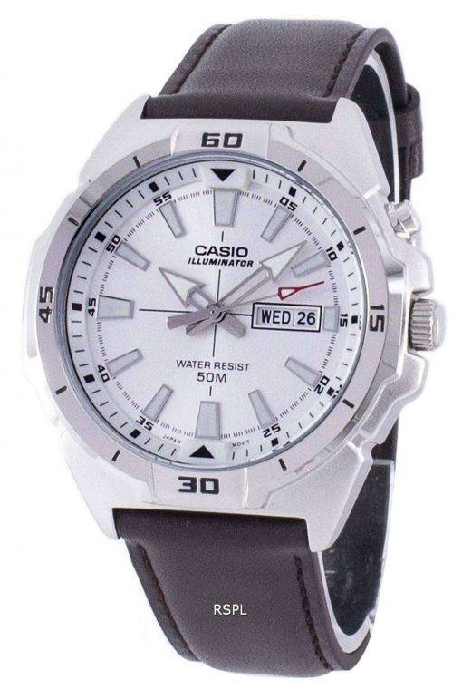 Casio Illuminator Analog Quartz MTP-E203L-7AV MTPE203L-7AV Men's Watch
