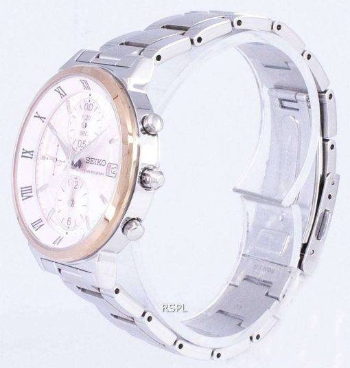 Seiko Chronograph Quartz SNDV30 SNDV30P1 SNDV30P Women's Watch