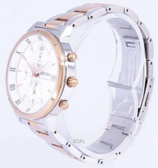 Seiko Chronograph Quartz SNDV32 SNDV32P1 SNDV32P Women's Watch