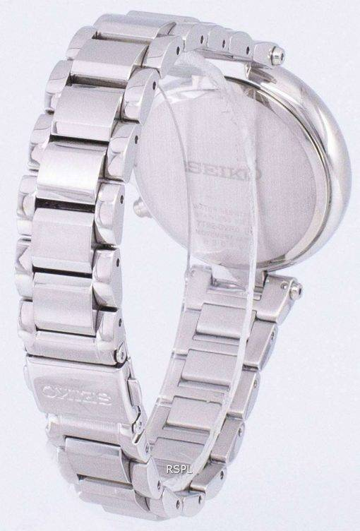 Seiko Chronograph Quartz Diamond Accent SNDV39 SNDV39P1 SNDV39P Women's Watch