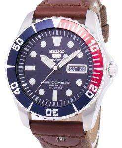 Seiko 5 Sports Automatic Canvas Strap SNZF15K1-NS1 Men's Watch