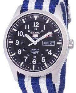 Seiko 5 Sports Automatic Nato Strap SNZG15K1-NATO2 Men's Watch