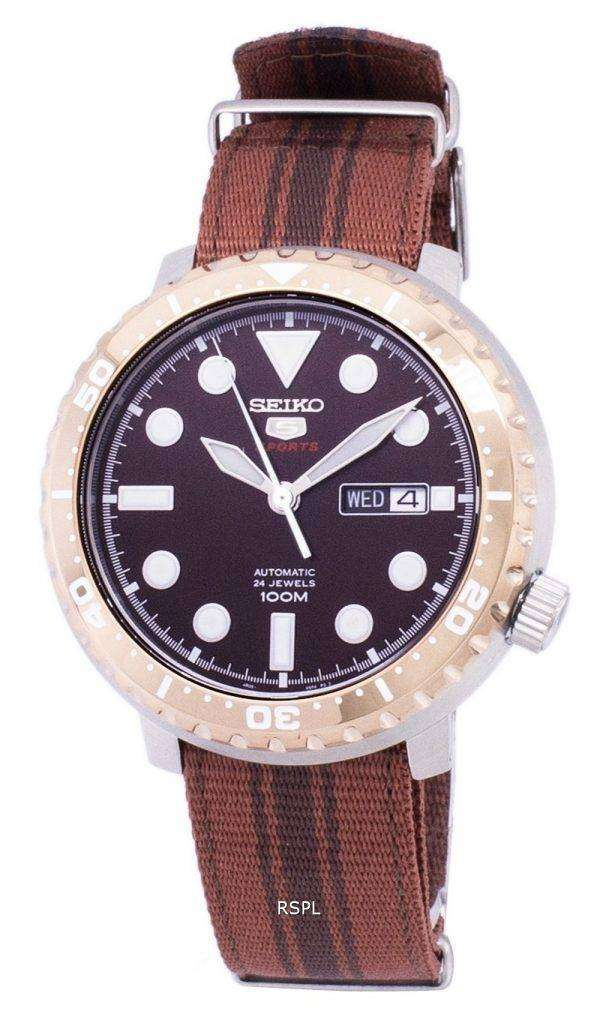 Seiko 5 Sports Bottle Cap Automatic SRPC68 SRPC68K1 SRPC68K Men's Watch
