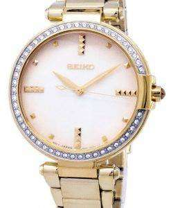 Seiko Quartz Diamond Accents SRZ518 SRZ518P1 SRZ518P Women's Watch