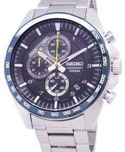 Seiko Motosportz Chronograph Quartz SSB321 SSB321P1 SSB321P Men's Watch