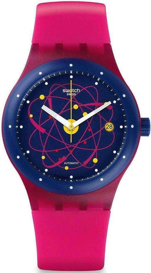 Swatch Originals Sistem Pink Automatic SUTR401 Unisex Watch