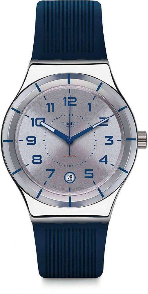 Swatch Irony Sistem Navy Automatic YIS409 Men's Watch