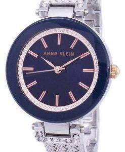 Anne Klein Quartz Diamond Accent 1907NVRT Women's Watch