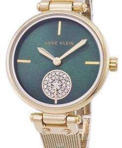 Anne Klein Quartz Diamond Accents 3000GNGB Women's Watch