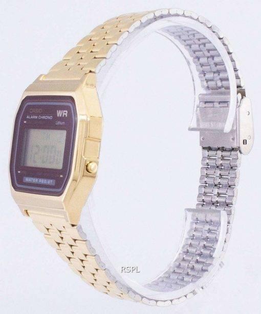 Casio Gold Tone Chronograph Digital A159WGEA-5 Men's Watch