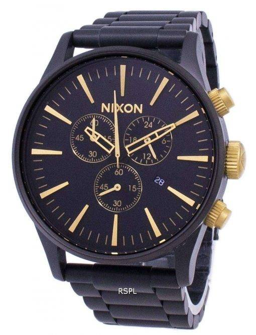 Nixon Sentry Chrono Quartz A386-1041-00 Men's Watch