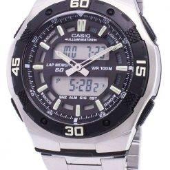 Casio Analog Digital Youth Series Illuminator AQ-164WD-1AVDF AQ-164WD-1AV Mens Watch