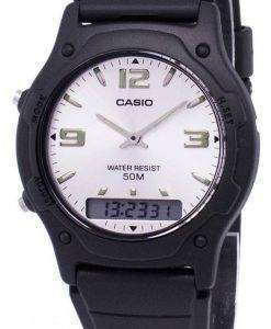 Casio Analog Digital Quartz Dual Time AW-49HE-7AVDF AW-49HE-7AV Mens Watch
