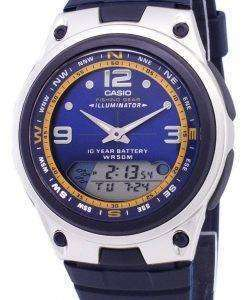 Casio Analog Digital Out Gear Fishing Illuminator AW-82-2AVDF AW-82-2AV Mens Watch