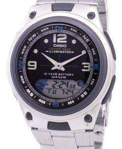 Casio Analog Digital Out Gear Fishing Illuminator AW-82D-1AVDF AW-82D-1AV Mens Watch