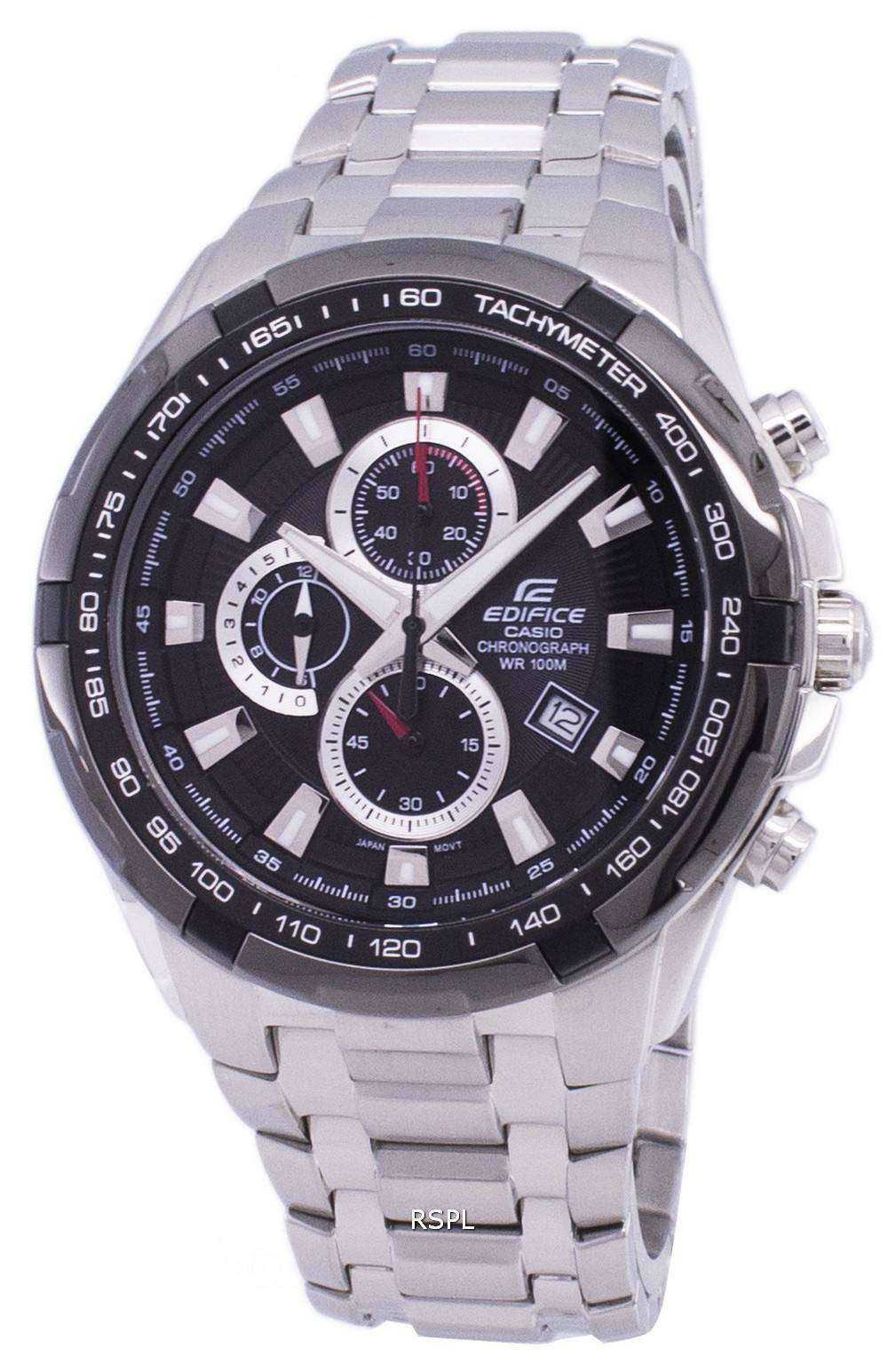 d8c01ce079a Casio Edifice Chronograph Tachymeter EF-539D-1AV EF539D-1AV Men s Watch