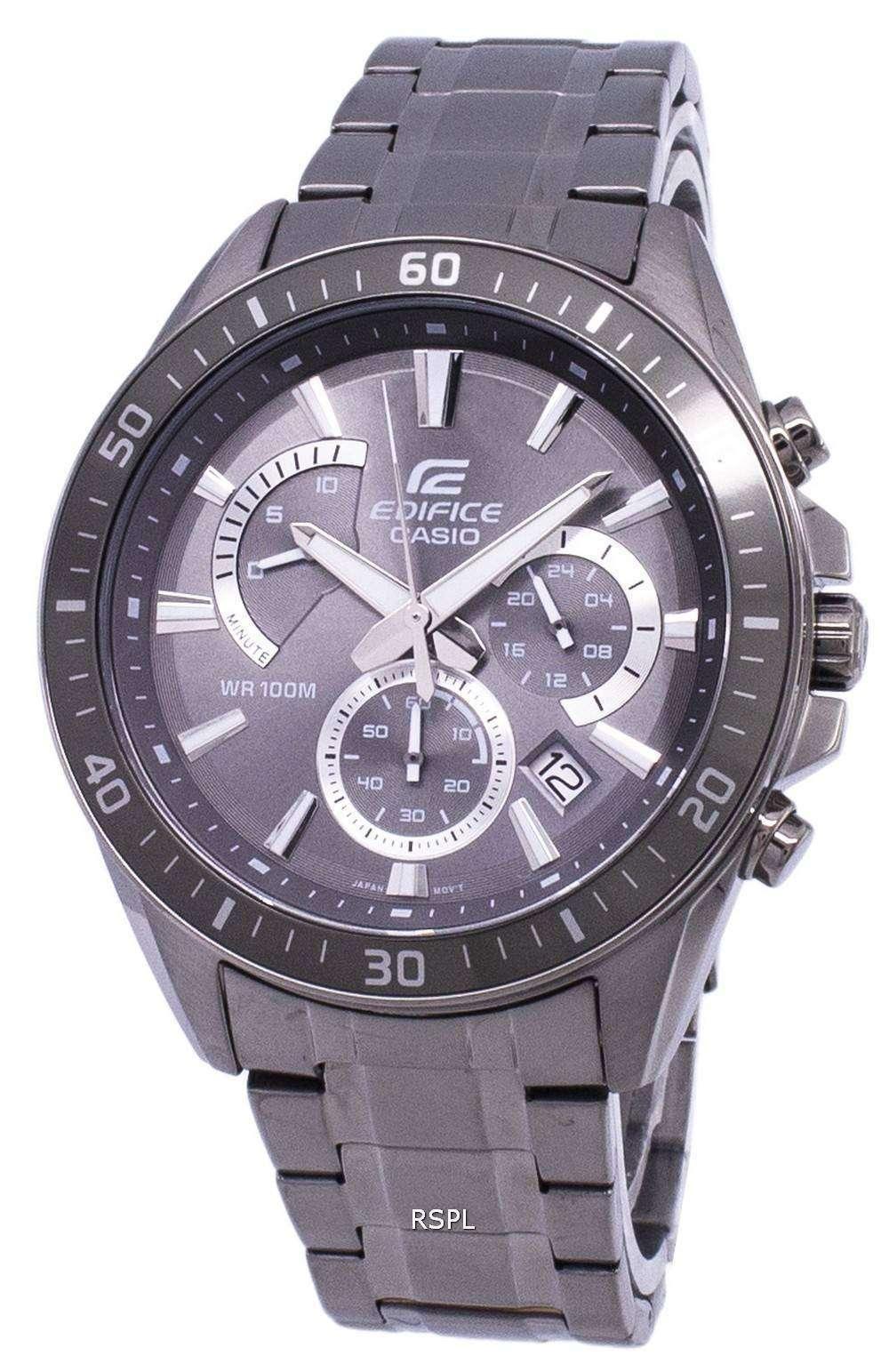 f5b1641dbba3 Casio Edifice Chronograph Quartz EFR-552GY-8AV EFR552GY-8AV Men s Watch