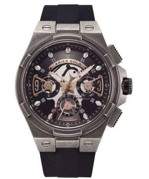 Aries Gold Inspire Lightning Quartz G 7003 AS-BKRG Men's Watch