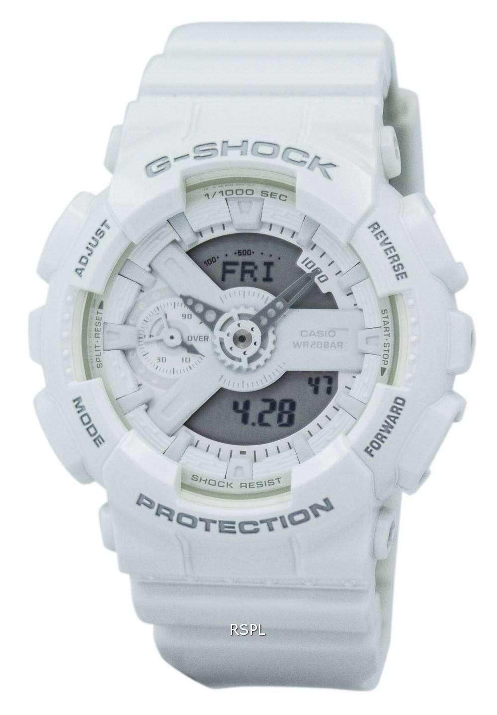 3f1d8f75a1d39 Casio G-Shock S Series Analog Digital World Time GMA-S110CM-7A1 Women s  Watch