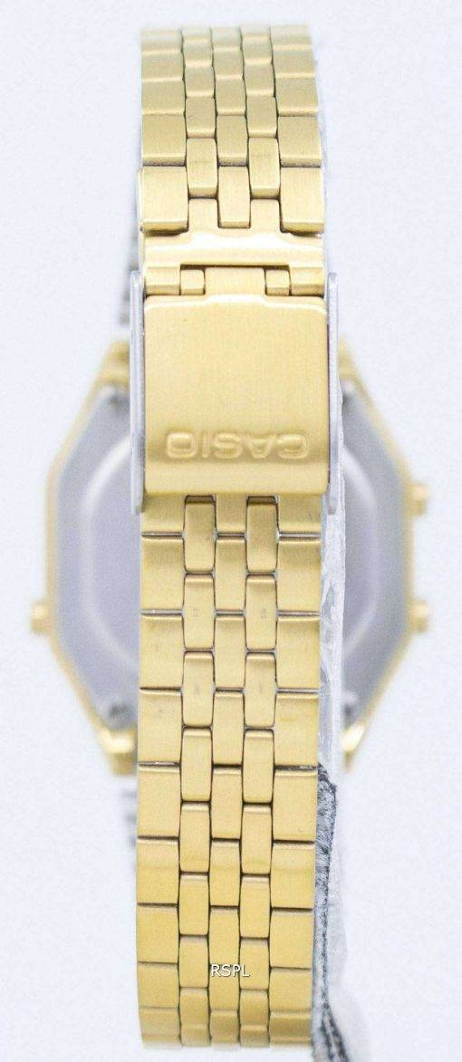 Casio Digital Quartz Stainless Steel Illuminator LA680WGA-9DF LA680WGA-9 Womens Watch