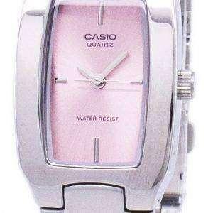 Casio Enticer Analog Pink Dial LTP-1165A-4CDF LTP-1165A-4C Womens Watch