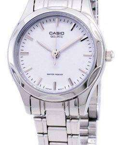 Casio Analog Quartz White Dial LTP-1275D-7ADF LTP-1275D-7A Womens Watch