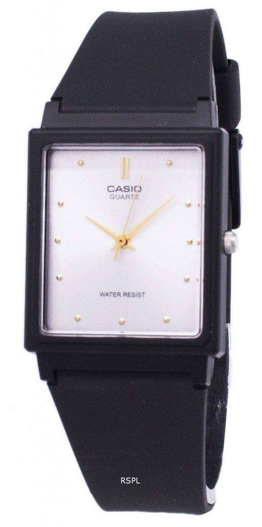 Casio Classic Quartz Analog White Dial Rectangular MQ-38-7ADF MQ-38-7A Mens Watch