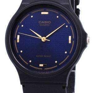 Casio Quartz Enticer Analog Blue Dial MQ-76-2ALDF MQ-76-2AL Mens Watch