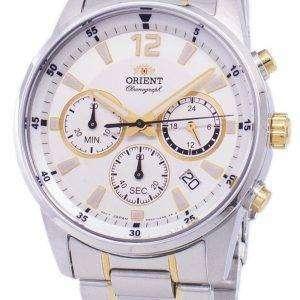 Orient Sports Chronograph Quartz RA-KV0003S10B Men's Watch