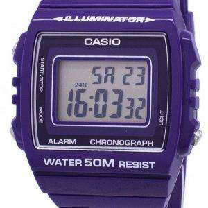 Casio Youth Digital Alarm Chronograph W-215H-6AVDF W-215H-6AV Unisex Watch