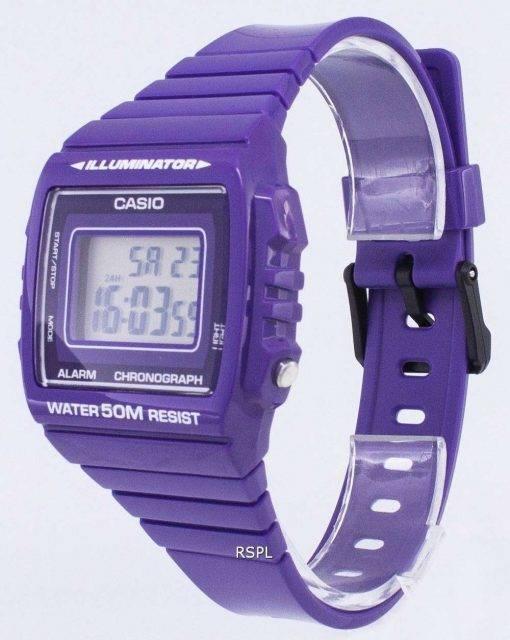 Casio Youth Digital Alarm Chronograph W-215H-6AVDF W-215H-6AV Unisex Watch