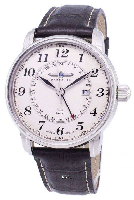 Zeppelin Series LZ127 Graf Germany Made 7642-5 76425 Men's Watch