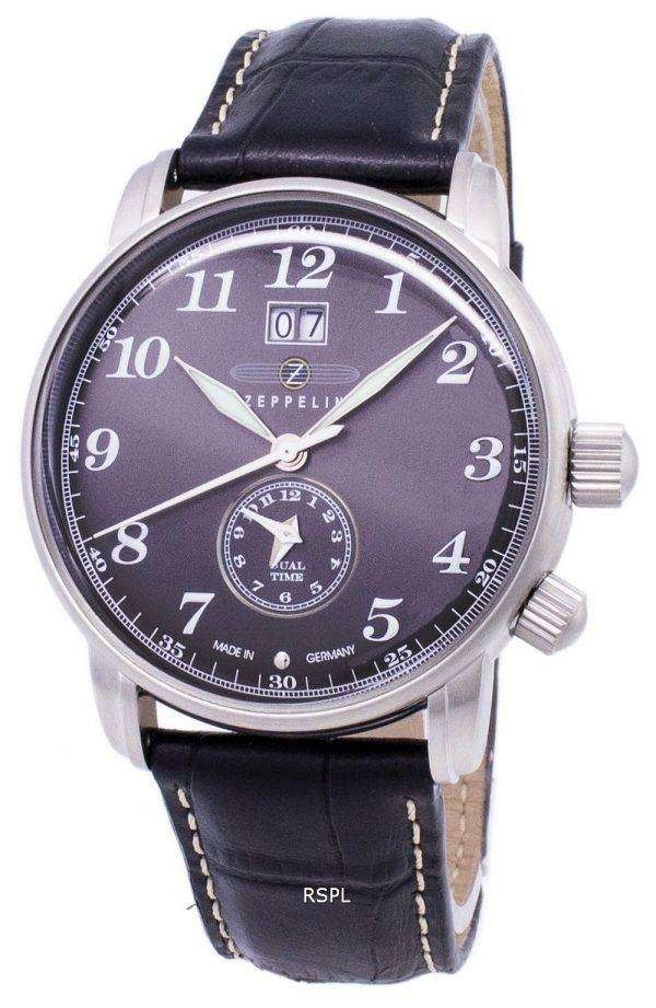 Zeppelin Series LZ127 Graf Germany Made 7644-2 76442 Men's Watch