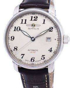 Zeppelin Series LZ127 Graf Germany Made 7656-5 76565 Men's Watch