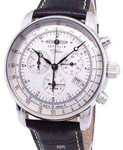 Zeppelin 100 Years ED.1 Germany Made 7680-1 76801 Men's Watch