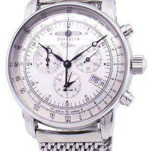 Zeppelin 100 Years ED.1 Germany Made 7680M-1 7680M1 Men's Watch