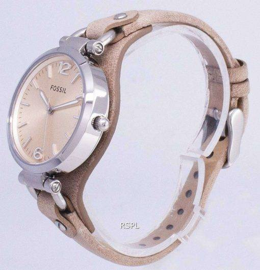 Fossil Georgia Sand Leather ES2830 Womens Watch