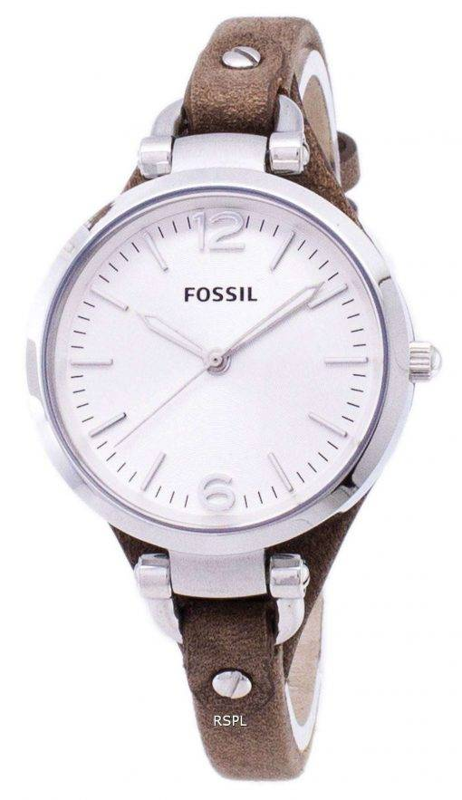 Fossil Georgia Silver Dial ES3060 Womens Watch