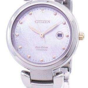Citizen Eco-Drive Super Titanium EW2506-81Y Women's Watch