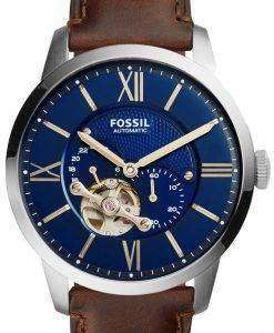 Fossil Townsman Automatic Skeleton ME3110 Mens Watch