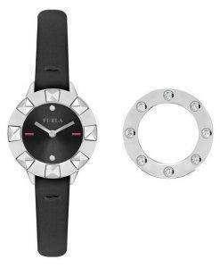 Furla Club Quartz Diamond Accents R4251116505 Women's Watch