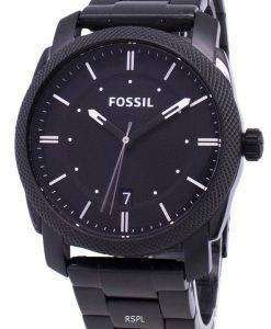 Fossil Machine Black IP Stainless Steel FS4775 Mens Watch