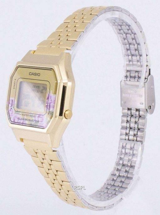 Casio Vintage Illuminator Quartz Digital LA680WA-4C Women's Watch