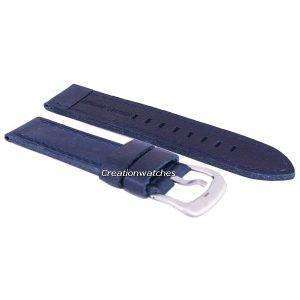Blue Ratio Brand Leather Strap 22mm