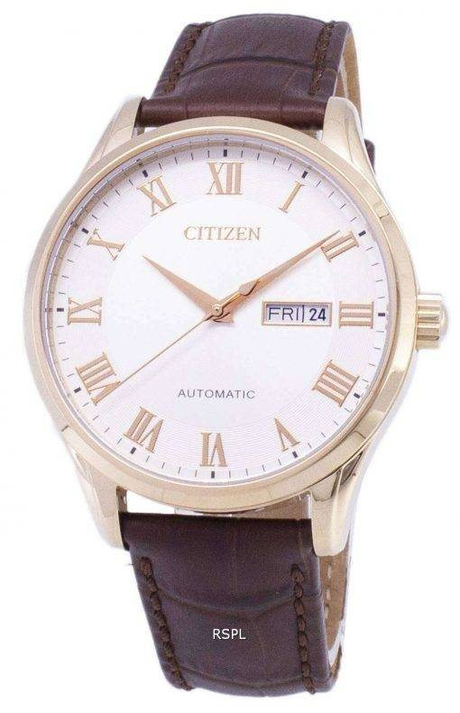 Citizen Analog Automatic NH8363-14A Men's Watch